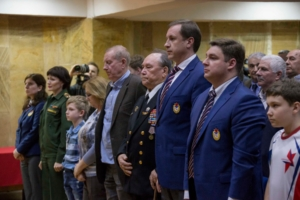 "Legend of Soviet sport – CSK NAVI"". Historic meeting of veterans of the sport."